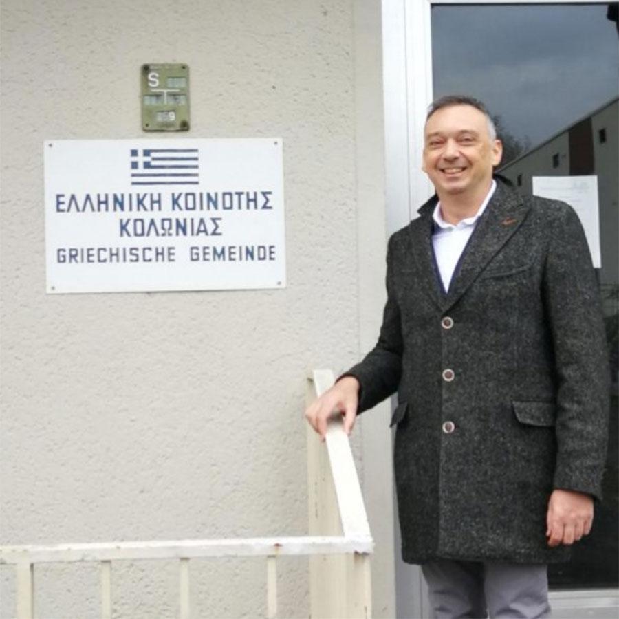 Δωρεάν ομιλίες σε πολιτιστικά κέντρα - Γιώργος Χαραλαμπίδης